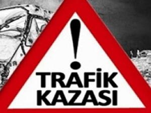 Düzce'de trafik kazası!