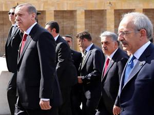 Erdoğan 3 yıl sonra ilk kez  Anıtkabir'de