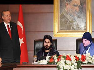 Erdoğan'ın tahtına bakın kimler oturuyor
