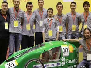 YTÜ öğrencileri yeni bir elektrikli araç tasarladı