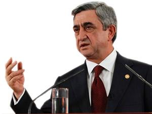 Serj Sarkisyan: Türkler düşmanımız değil