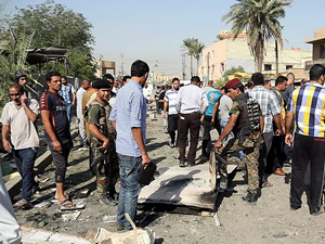Irak'ta bombalı saldırı!