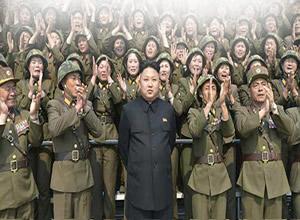Kadın askerler Kim Jong-un için ağladı!