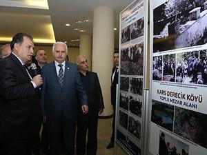 """""""Türk Soykırımı ve Ermeni Terörü Fotoğraf"""" sergisi açıldı"""
