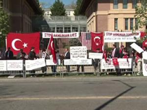 ABD'de Ermenilere karşı gösteri şoku