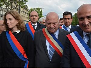 Erdoğan'ın mesajına Fransız siyasetçilerden destek