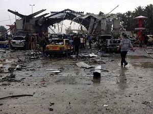 Irak Bağdat'ta bombalı saldırı
