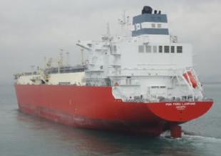 Hoegh, Hyundai'den LNG gemisini aldı