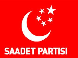 Saadet Partisi'nden televizyon yayınlarını protesto