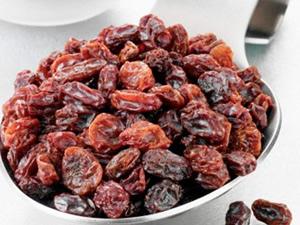 Sağlık deposu: kuru üzüm!