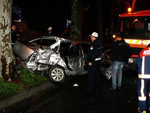 Beşiktaş'ta trafik kazası: 1ölü 3 yaralı