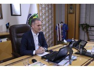 İnegöl Belediye Başkanı Alper taban, online halk günü düzenledi