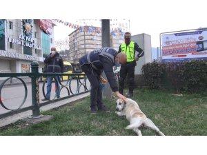 Polisin şefkatli elleri