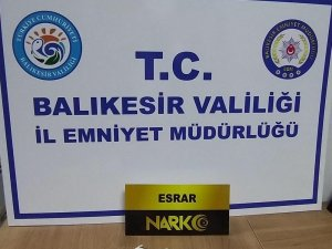 Balıkesir'de polis 12 uyuşturucu şüphelisini yakaladı