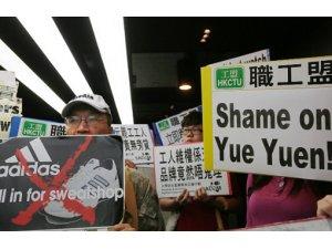 Çin'in en büyük grevinde direniş karşılık buldu.