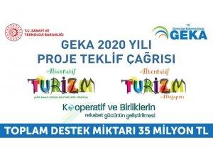 GEKA alternatif turizm ve kooperatif çağrısına 192 başvuru