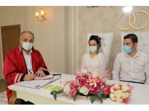 2020'de Suluova'da 294 çiftin nikahı kıyıldı