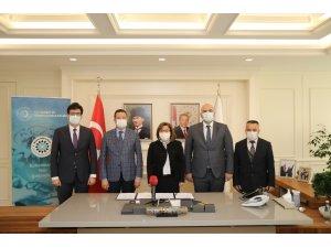 """Gaziantep'te yeni yılın ilk """"akıllı"""" protokolünü imzaladı"""