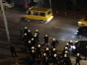 Galatasaray taraftarları da Bağdat Caddesi'nde!