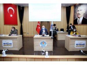 Akdeniz Belediye Meclisi, yeni yılın ilk toplantısını yaptı