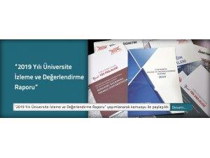 """YÖK Başkanı Saraç: """"Ülkemizdeki her bir üniversiteye ait '2019 Yılı Üniversite İzleme ve Değerlendirme Raporu'nu bugün yayınlandı"""""""