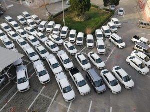 İl Tarım Müdürlüğü'ne 54 araç tahsis edildi