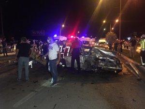 Denizli'de son 1 haftada 75 trafik kazası meydana geldi
