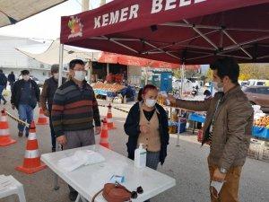 Kemer Belediyesi, korona virüs tedbirlerini sürdürüyor