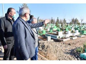 Vali Karaloğlu asfalt ve düzenleme çalışmalarını inceledi
