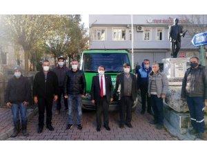 İBB'den Tut Belediyesine cenaze aracı