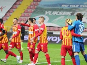 Kayserispor'un galibiyet hasreti 11 maça çıktı