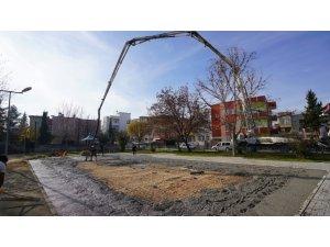 Adıyaman'da parklar yenileniyor