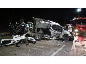 Elazığ'da feci kaza: 2 ölü, 3'ü ağır 5 yaralı