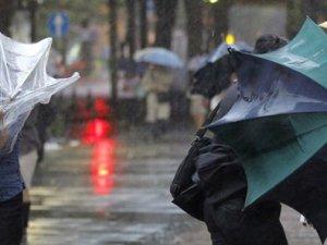 Kastamonu'da sağanak yağış