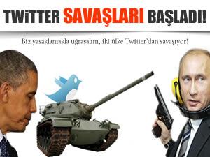 Rusya ile ABD arasında Twitter savaşları