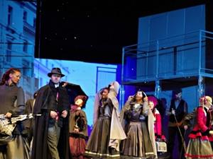 Polonyalı tiyatrocular Ankara'ya geldi