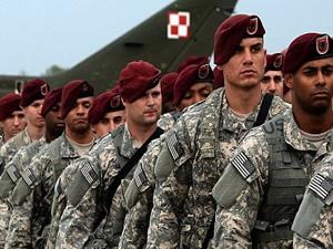 Amerikan askerleri sınıra dayandı!