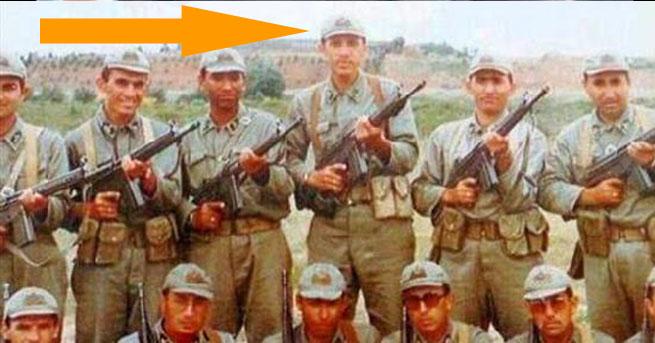 Başbakan'a askerlik fotoğrafı sürprizi!