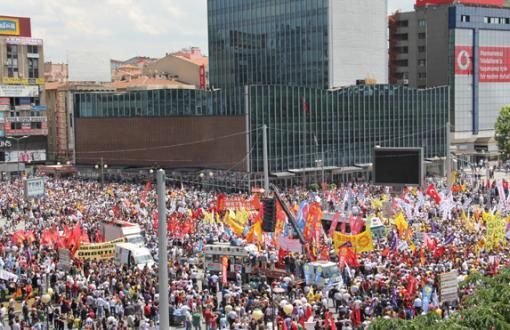 1 Mayıs'ta Kızılay Meydanı da Yasak!