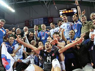 Voleybolda Halkbank şampiyon oldu!