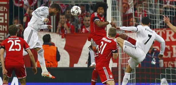 Real, Bayern'i şoka soktu! / CANLI