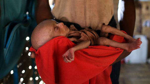 Mynmar açlıkla savaşıyor