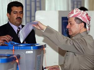 Irak halkı sandık başında