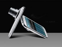 Samsung'un yeni akıllı telefonu Galaxy K zoom