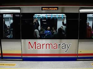 Marmaray seferleri ilk 6 ayda 21,5 milyon yolcu taşıdı