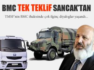 BMC'de tek teklif Ethem Sancak'tan