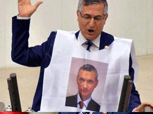 MHP'den Engin Alan protestosu!