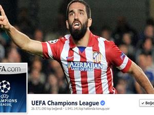 Arda UEFA'da kapak oldu!