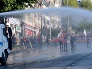 Polisten Beşiktaş'ta müdahale!