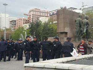 Kızılay Güvenpark'ı polisler kapladı!
